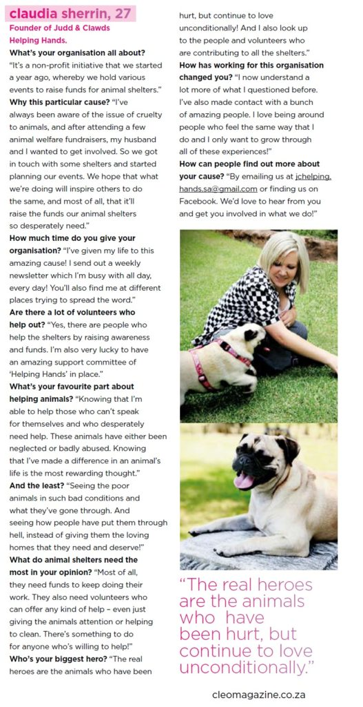 2010 Cleo Article